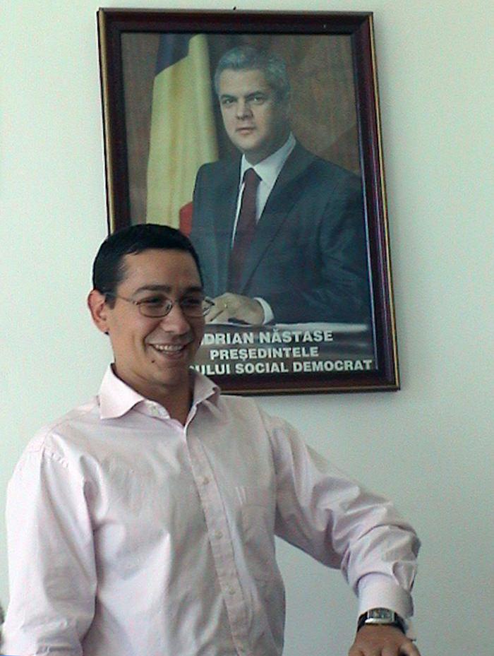 Tânărul Ponta candida și atunci, dar la conducerea PSD Gorj